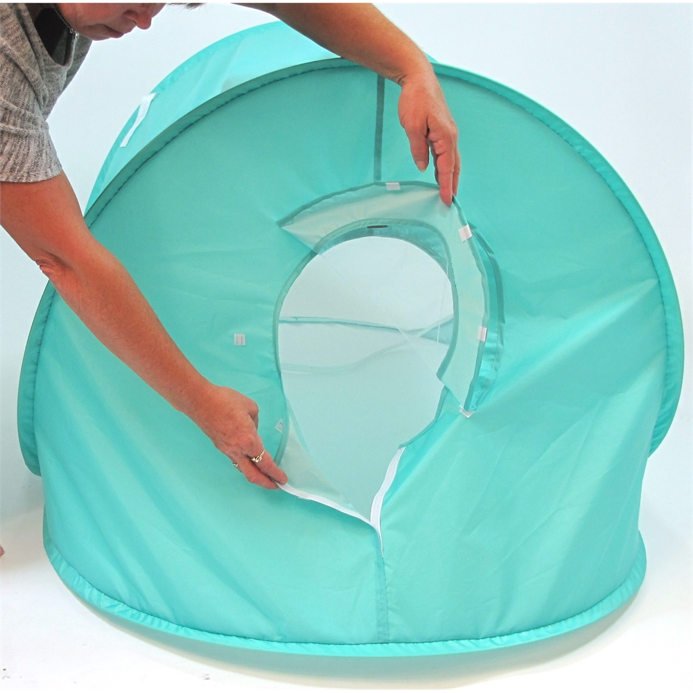 Beach Baby® Super Shade Dome, Teal. Picture 4
