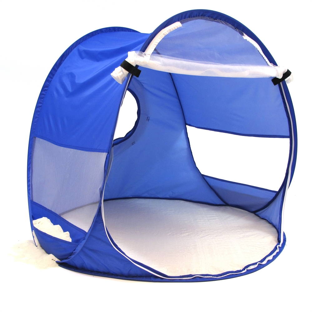 Beach Baby® Shade Dome, Blue. Picture 1