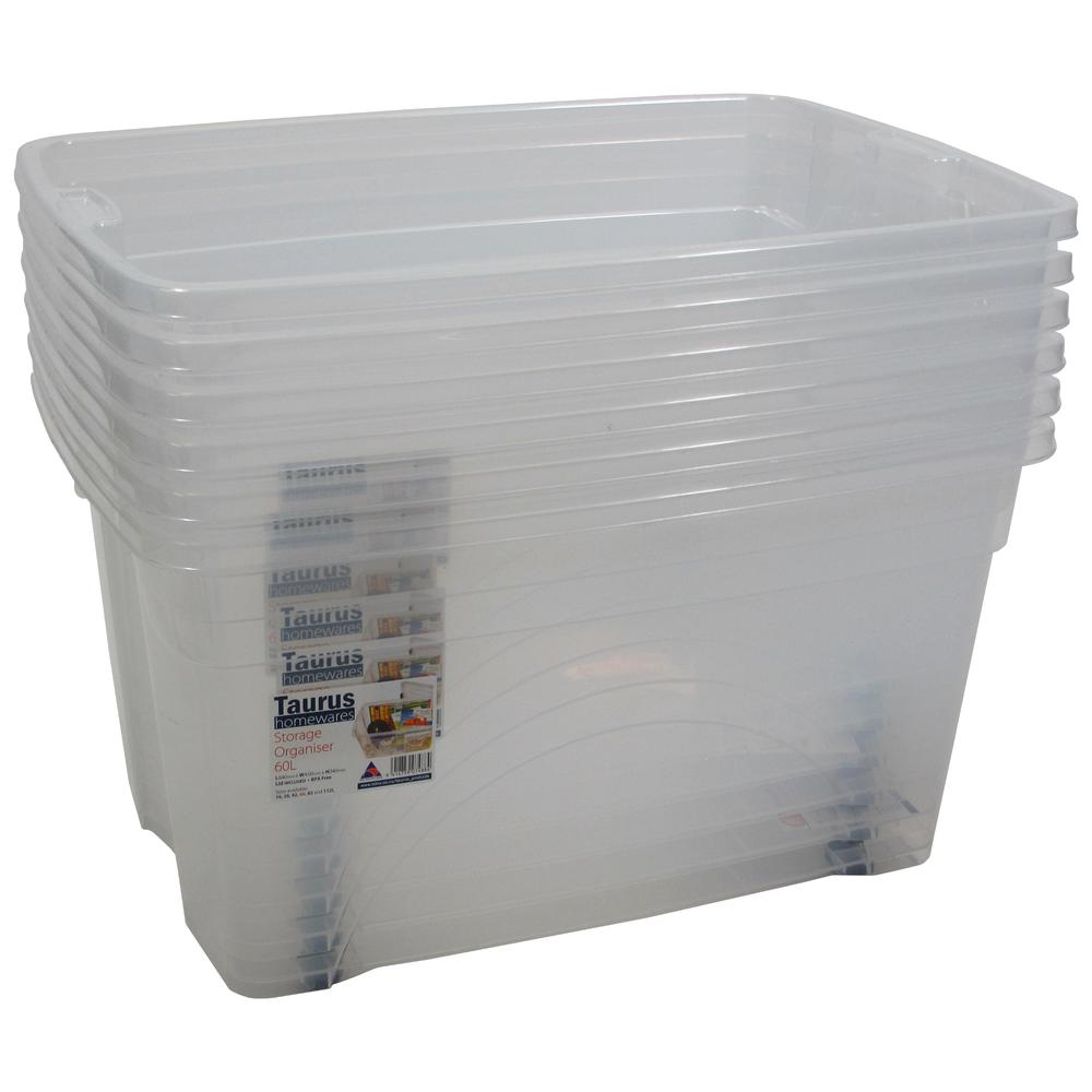 16 Gallon Rolling Bin  Storage Organizer. Picture 3