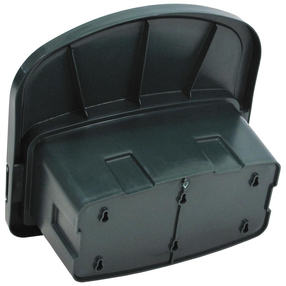 Garden Hose Hanger with Storage Compartment. Picture 1