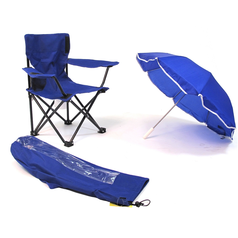 Beach Baby 174 Kids Camp Chair With Carry Umbrella And