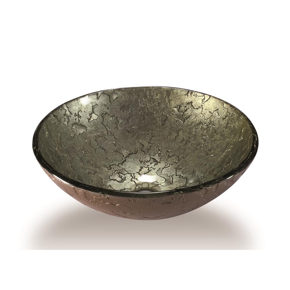 Glass Sink Bowl Antique Gold