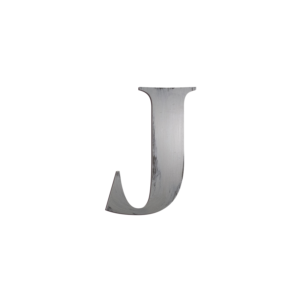 Individual block letters wall decor letter j for Large letter j for wall