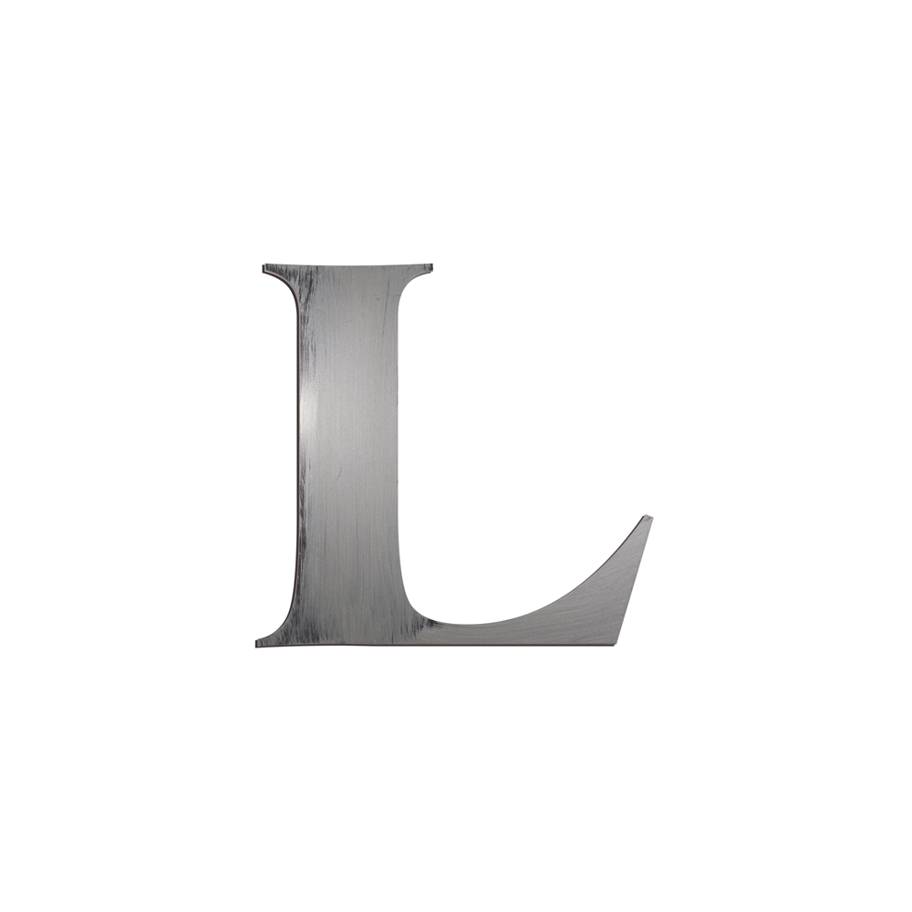Individual Block Letters Wall Decor Letter L