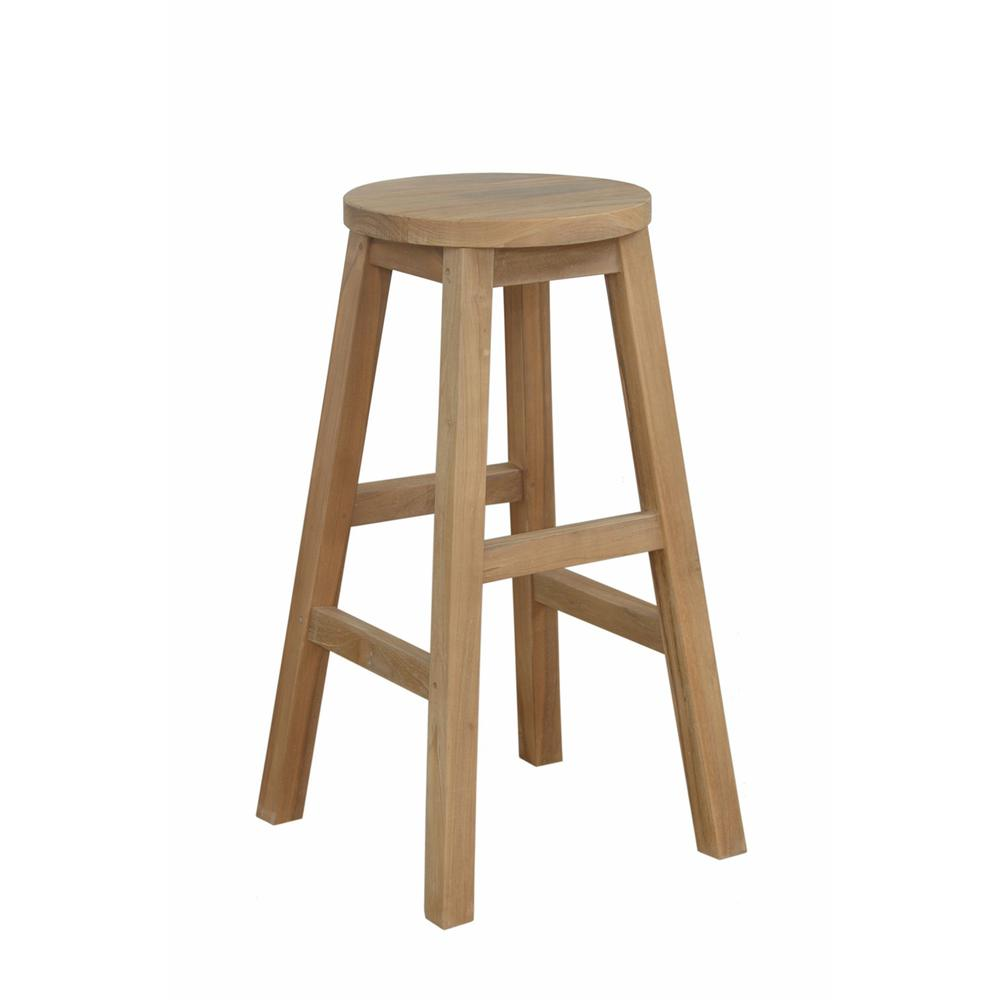 Alpine Round Counter Stool. Picture 1