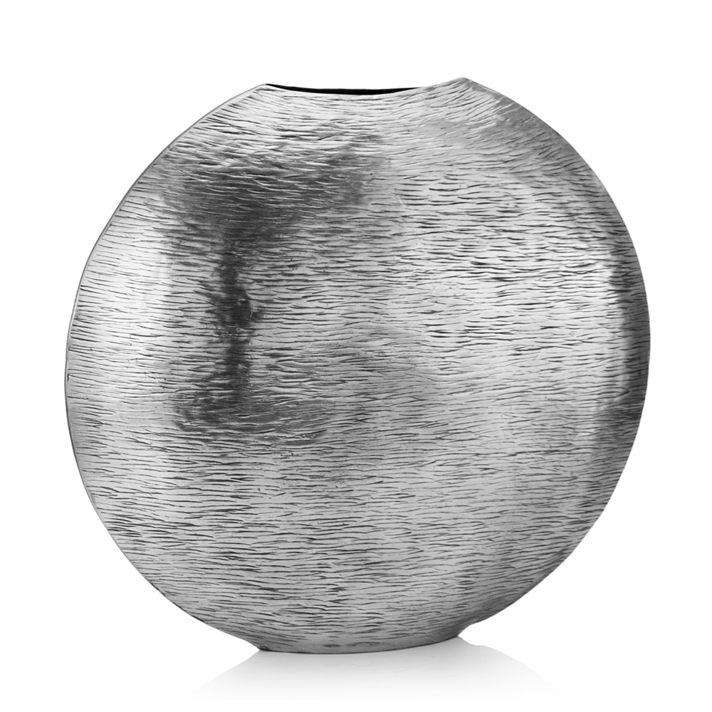gordo sm silver metallic vase. Black Bedroom Furniture Sets. Home Design Ideas