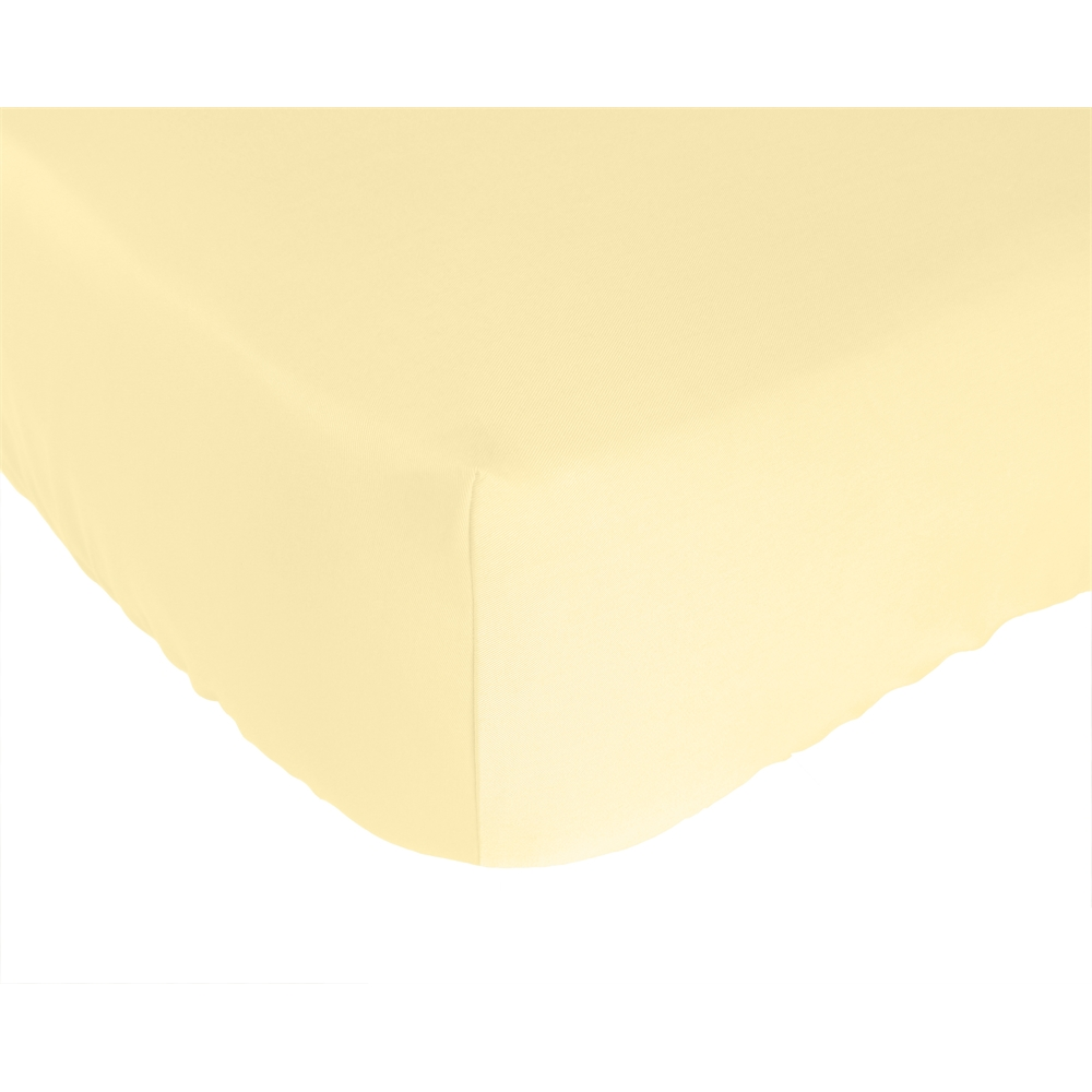 Rayon from Bamboo Crib Sheet in Butter