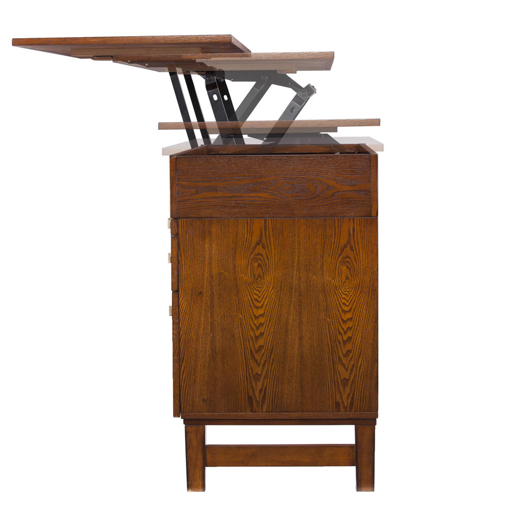 Edenton Midcentury Adjustable Height Desk