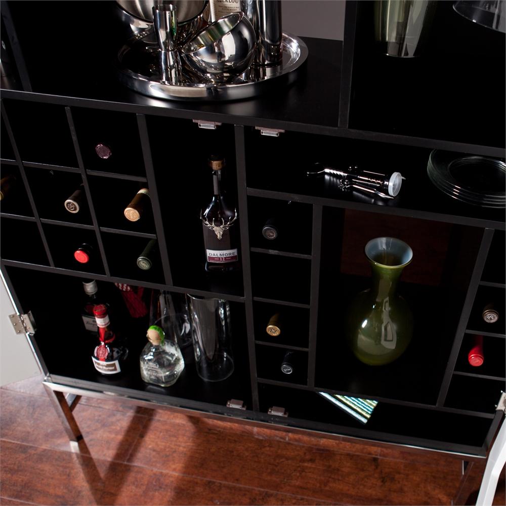 Shadowbox Wine Bar Cabinet