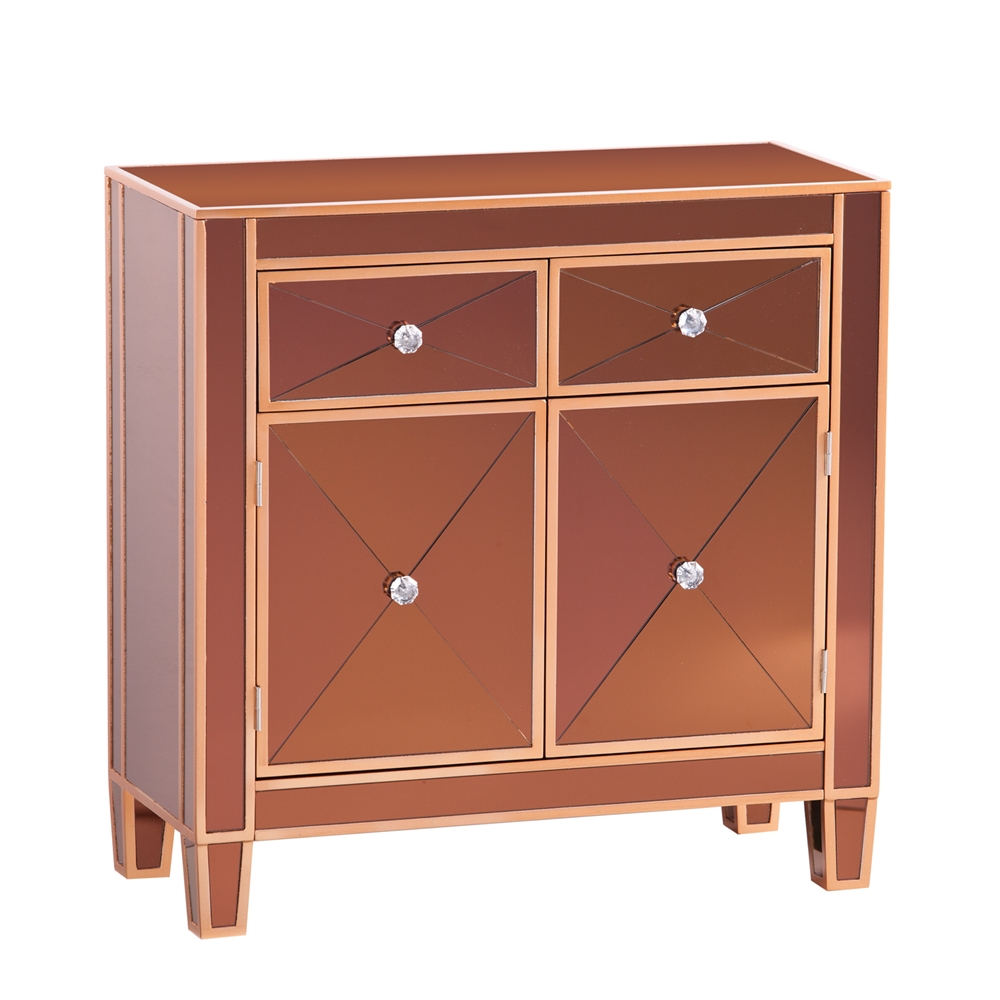 Mirage Colored Mirrored Cabinet