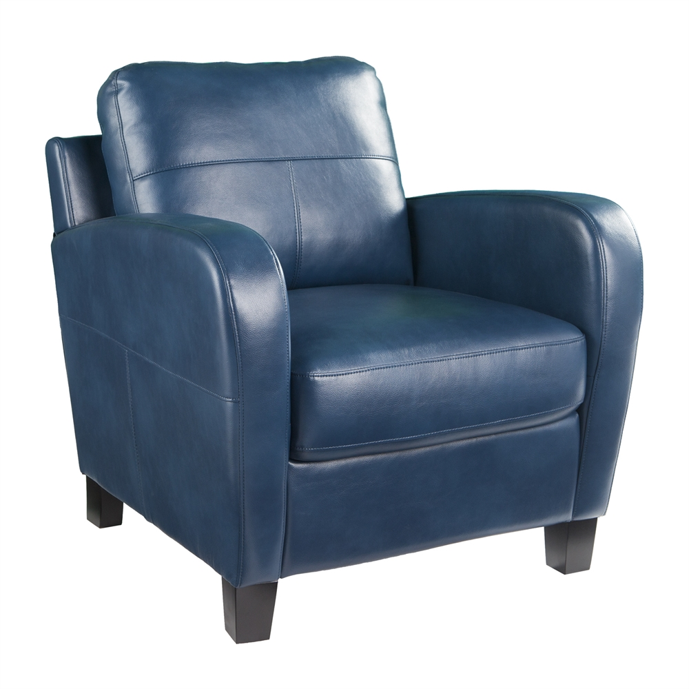 Bolivar Faux Leather Lounge Chair
