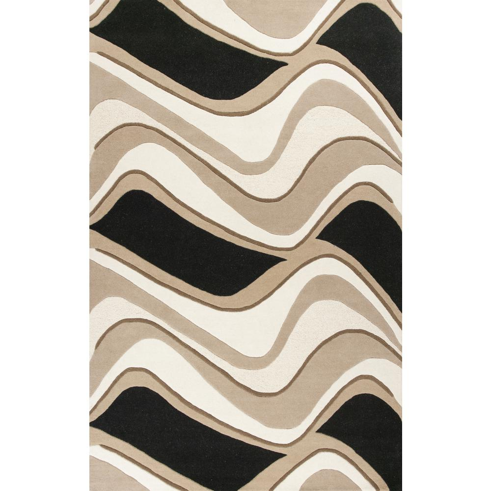 Eternity 1071 Black Beige Waves 27 Quot X 45 Quot