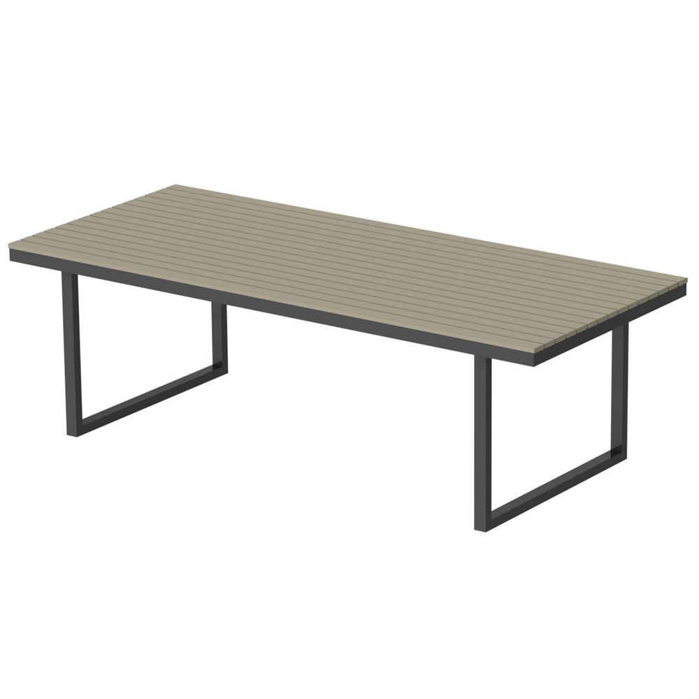 Kinzie Outdoor 96 X 42 Table Hdpe Sand Table Top