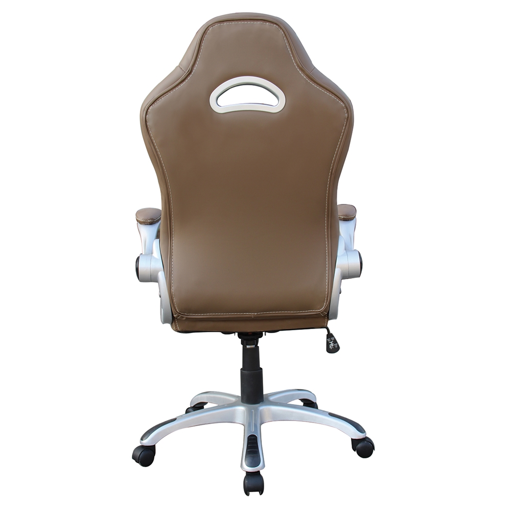 High Back Executive Sport Race Office Chair With Flip Up