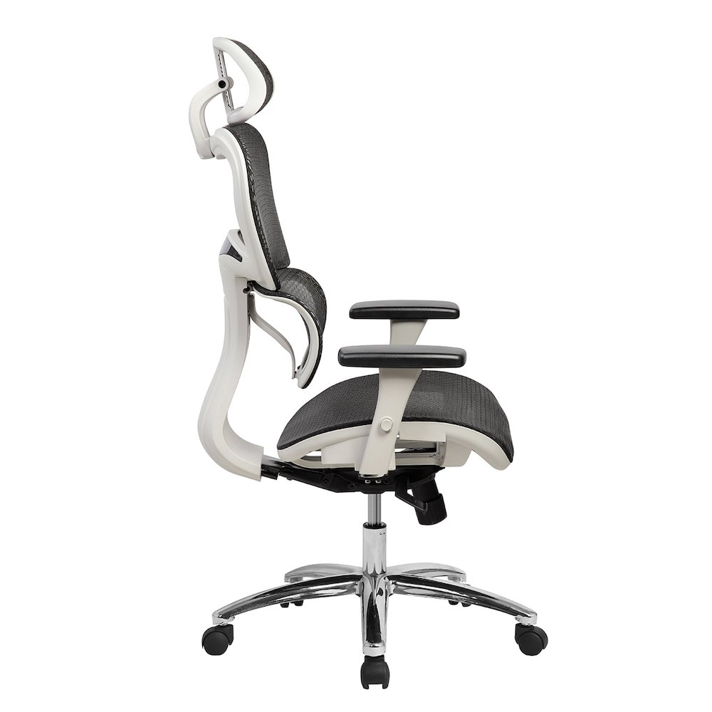 Techni Mobili Deluxe High Back Mesh Executive Office Chair