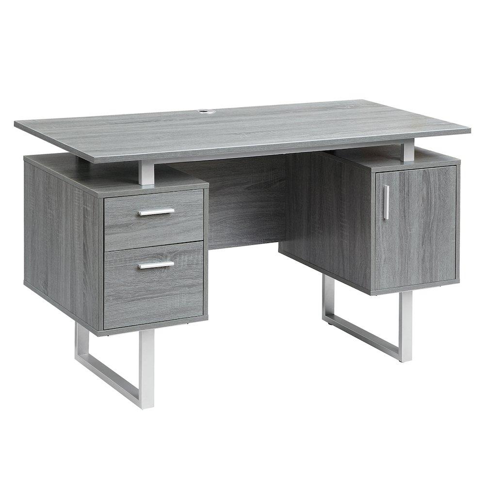 Modern Office Desk ~ Modern office desk with storage
