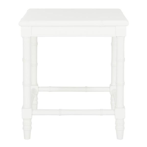 """LIVIAH MODERN COASTAL 22"""" H BAMBOO ACCENT TABLE, ACC3500A. Picture 1"""