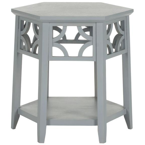CONNR HEXAGON END TABLE, AMH4602C. Picture 1