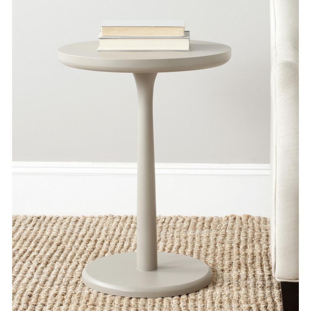 LUKE ROUND END TABLE. Picture 1
