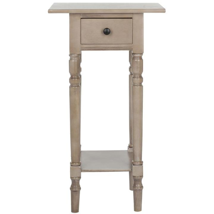 SABRINA END TABLE WITH STORAGE DRAWER, AMH5704A. Picture 1