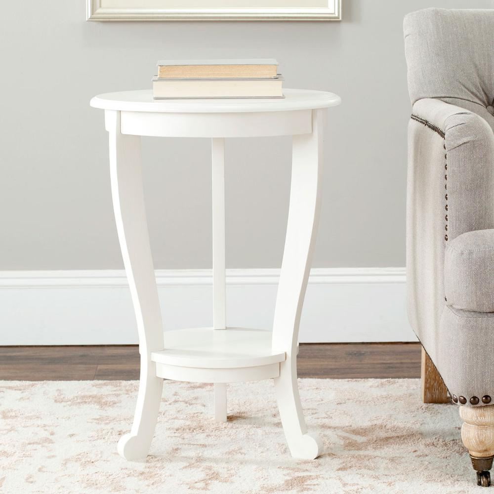 MARY PEDESTAL SIDE TABLE, AMH5711C. Picture 1