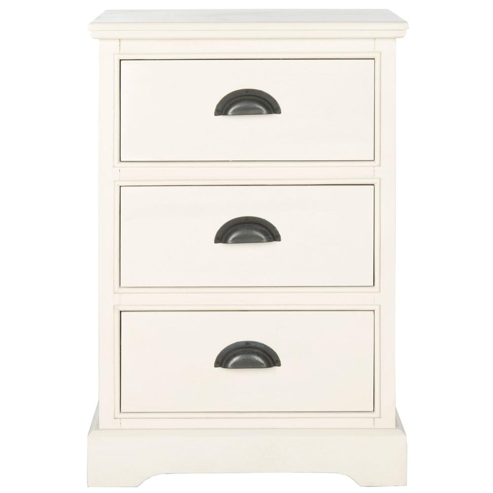 GRIFFIN 3 DRAWER SIDE TABLE, AMH5717C. Picture 1
