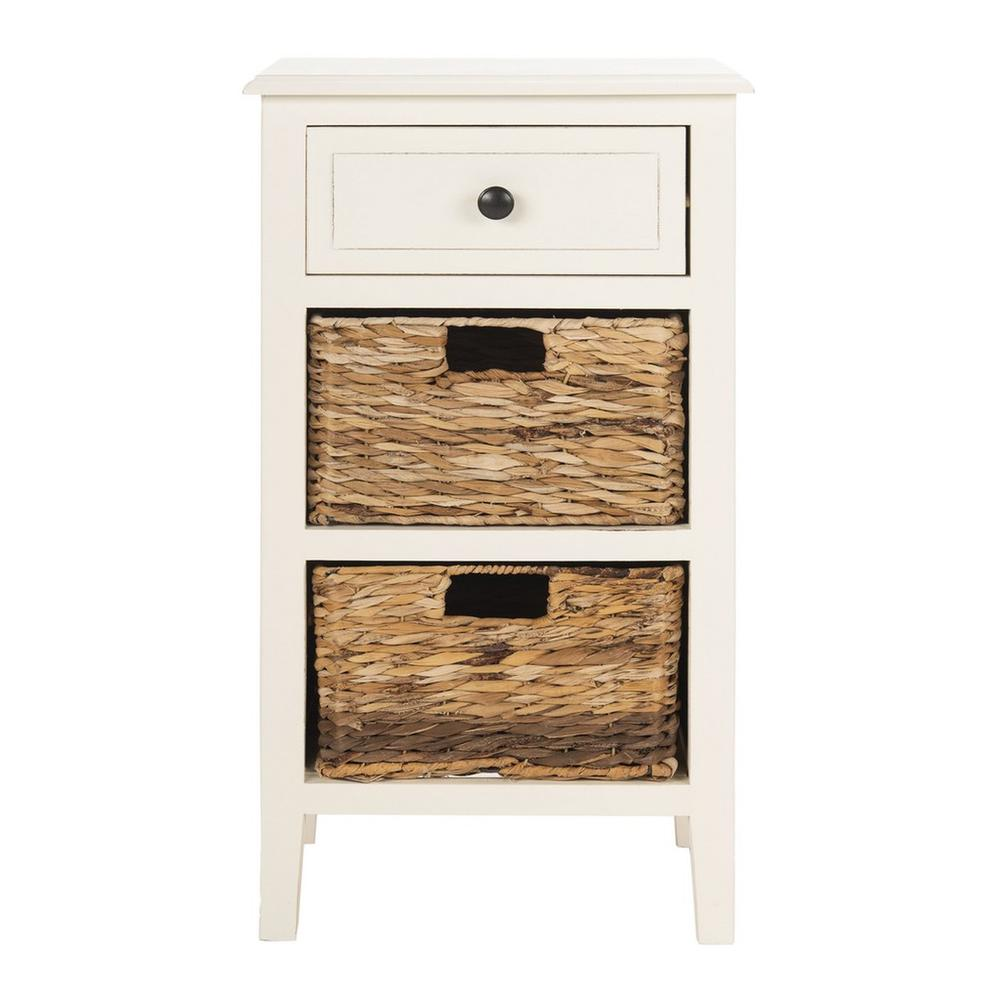 EVERLY DRAWER SIDE TABLE, AMH5743B. Picture 1