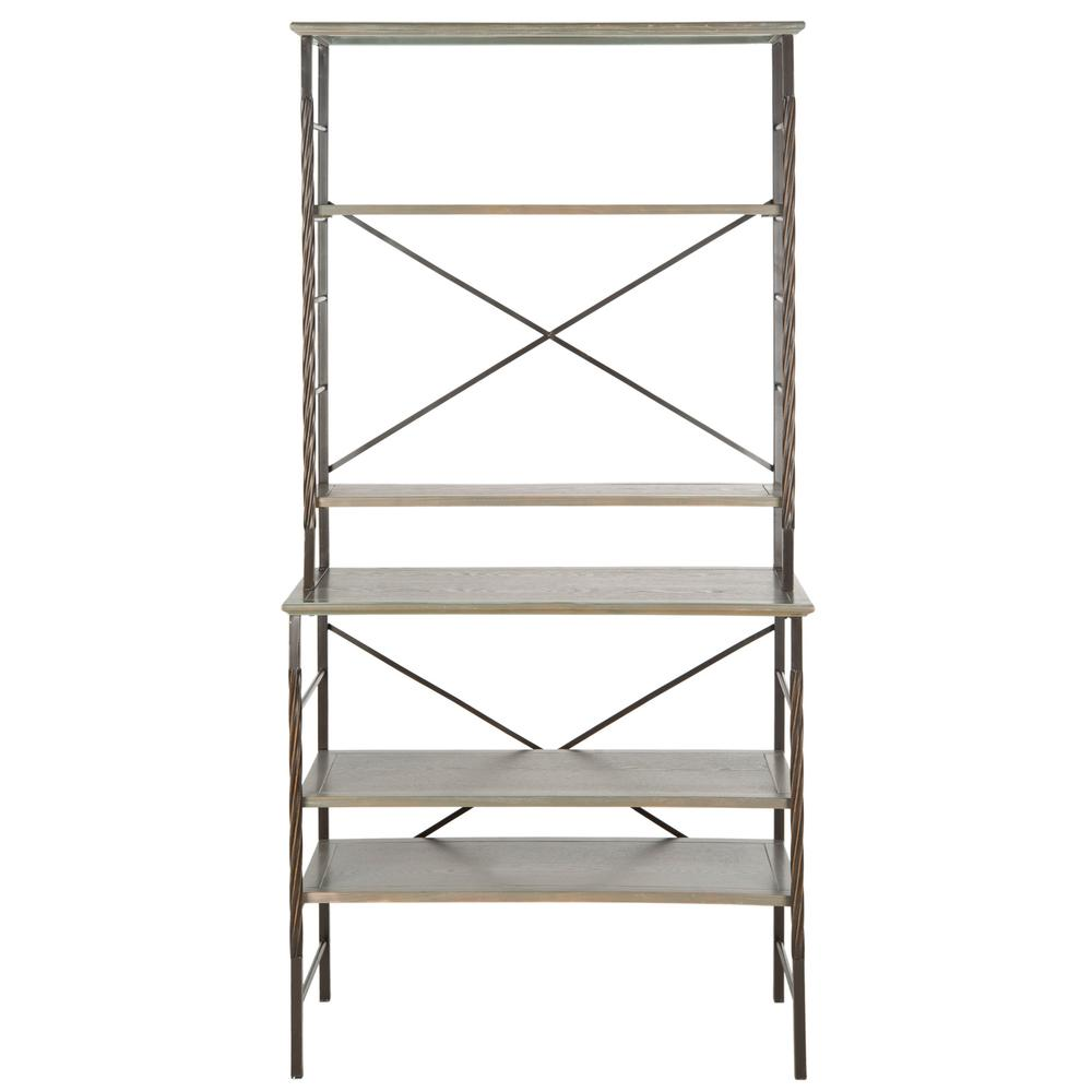 BROOKE 6 TIER ETAGERE, AMH6508B. Picture 1
