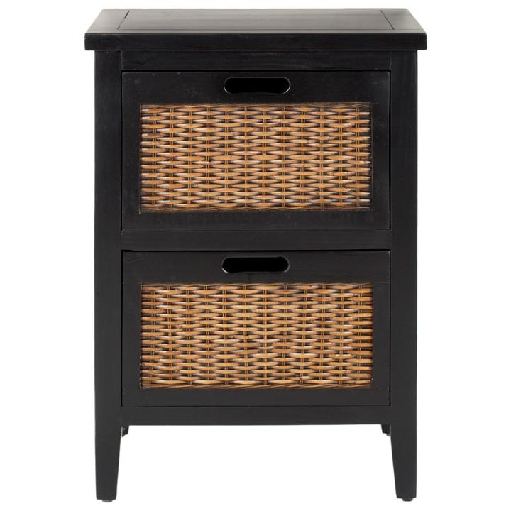 JONAH TWO DRAWER END TABLE, AMH6531B. Picture 1