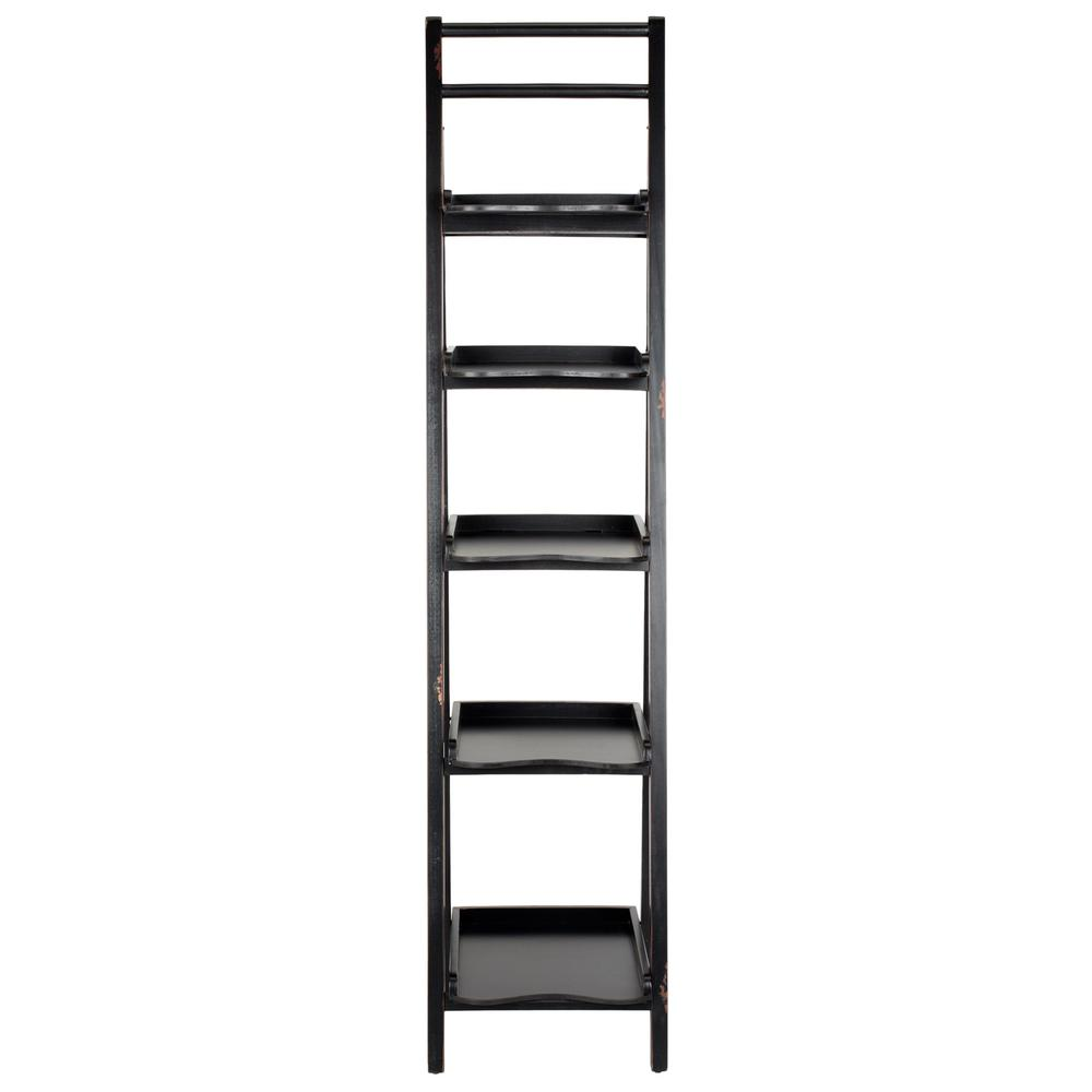 ASHER LEANING 5 TIER ETAGERE, AMH6537B. Picture 1