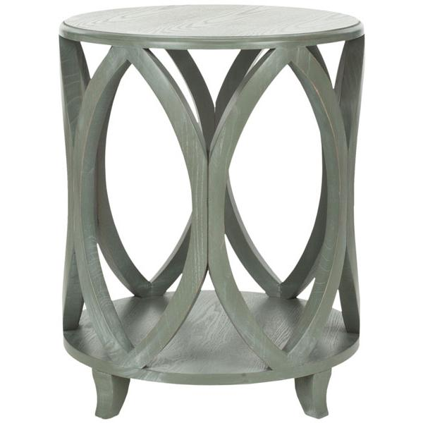 JANIKA ROUND ACCENT TABLE, AMH6607B. Picture 1