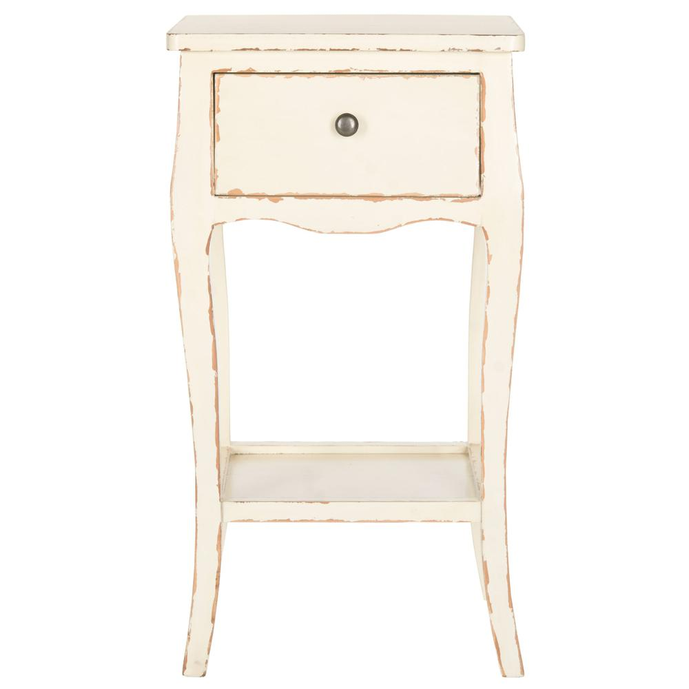 THELMA END TABLE WITH STORAGE DRAWER, AMH6619D. Picture 1