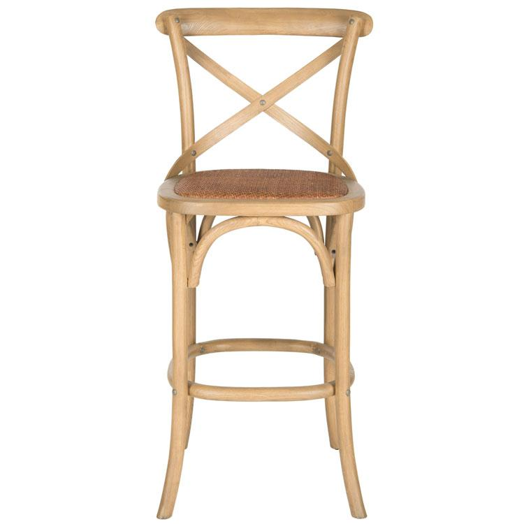 FRANKLIN X BACK BAR STOOL, AMH9502C. Picture 1