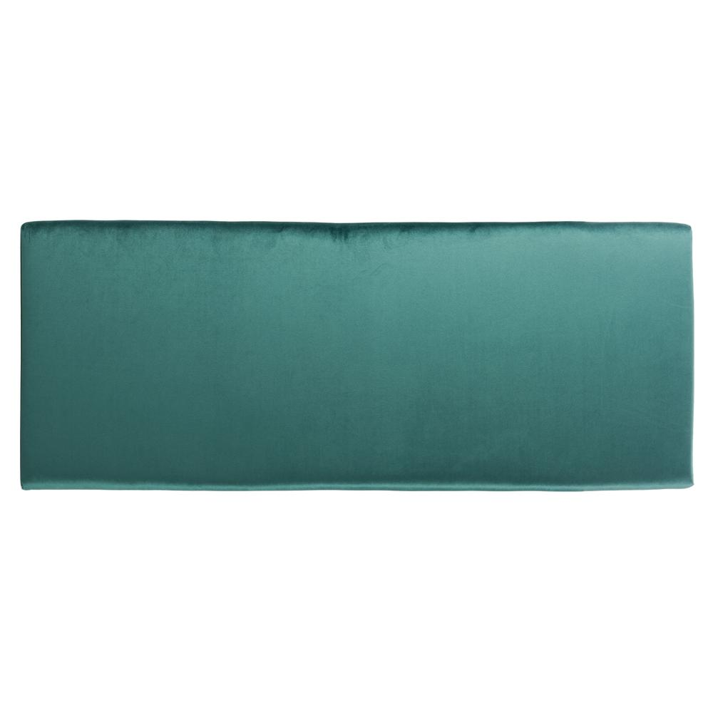 Juliet Rectangular Bench, Emerald/Gold. Picture 9