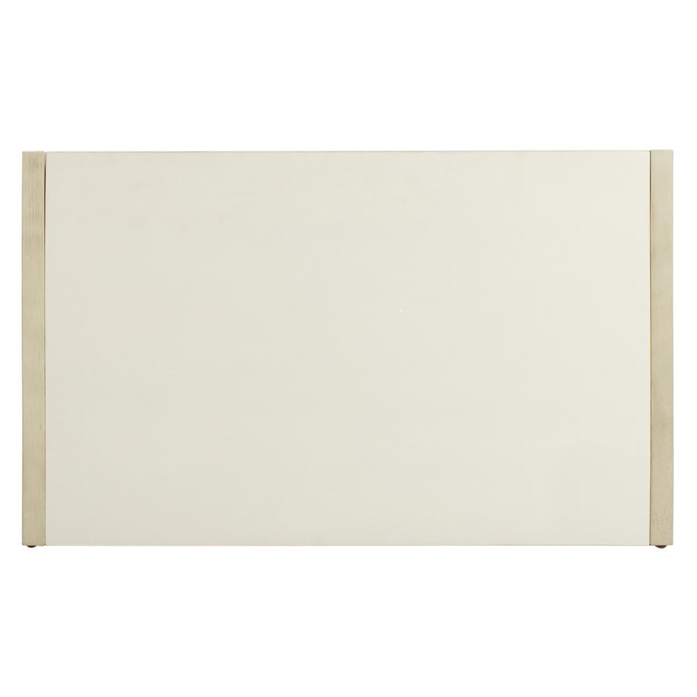 Percy Storage Bench, White Wash/Beige. Picture 2