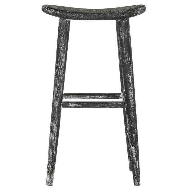 COLTON WOOD BAR STOOL. Picture 1