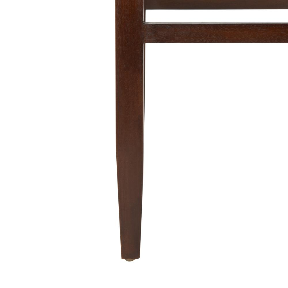 Paxton Woven Leather Barstool, Cognac. Picture 7