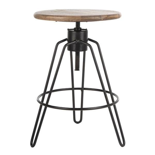 KAI ADJUSTABLE SWIVEL COUNTER STOOL. Picture 1