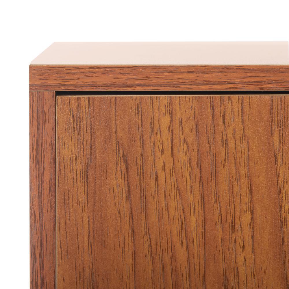Pine 2 Door Modular Tv Unit, Natural/Gold. Picture 5