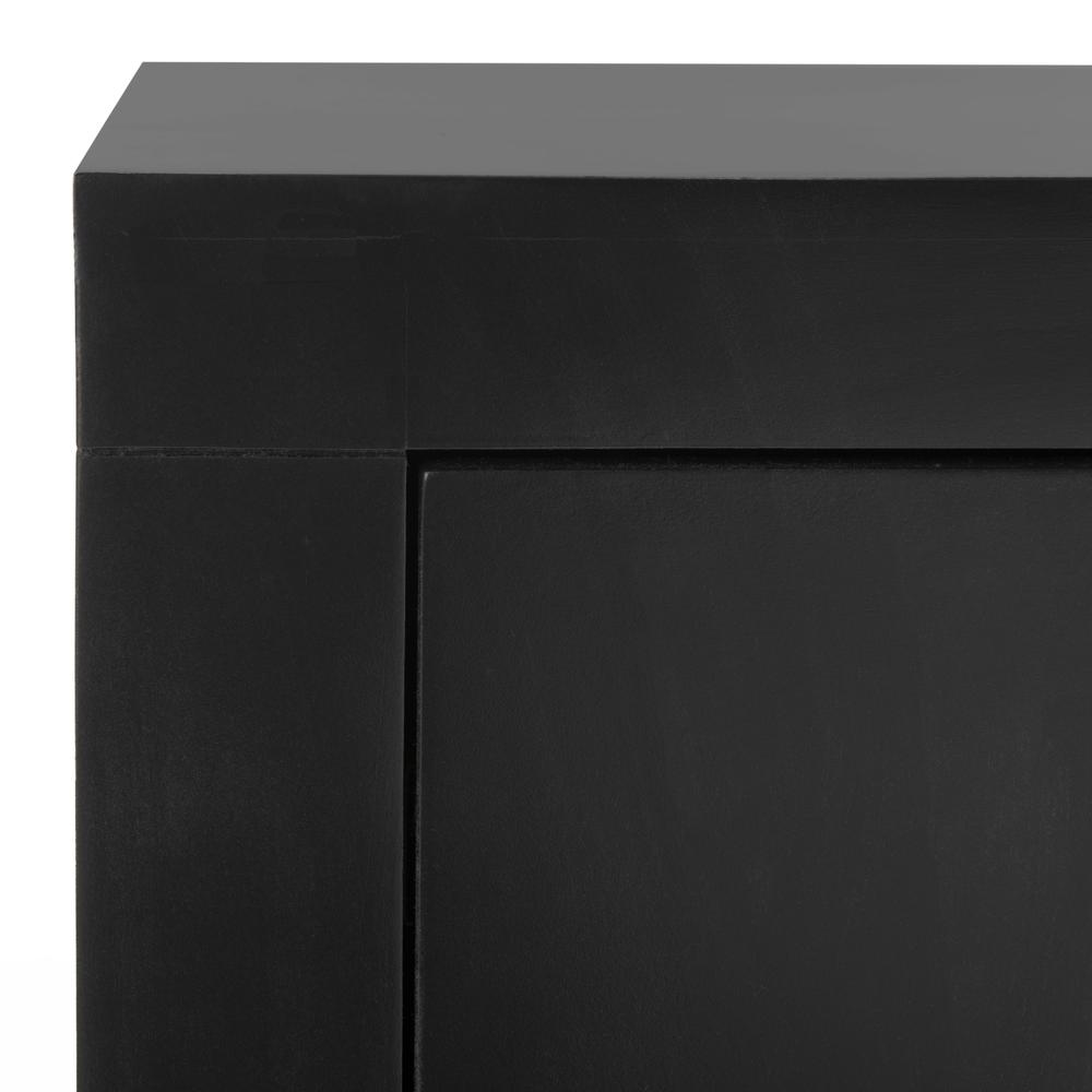 Dion 3 Drawer Chest, Black/Gold. Picture 2