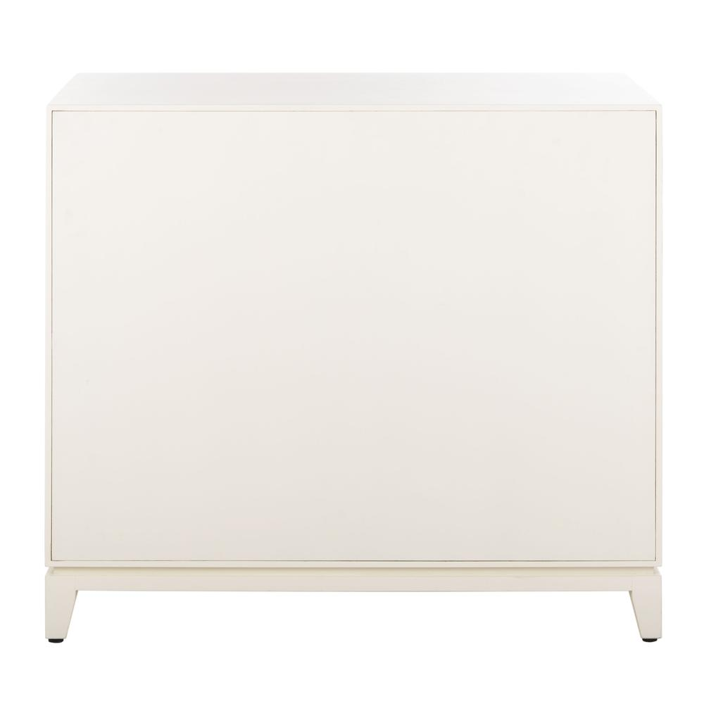 Nigel 2 Door 1 Drawer Chest, White. Picture 2