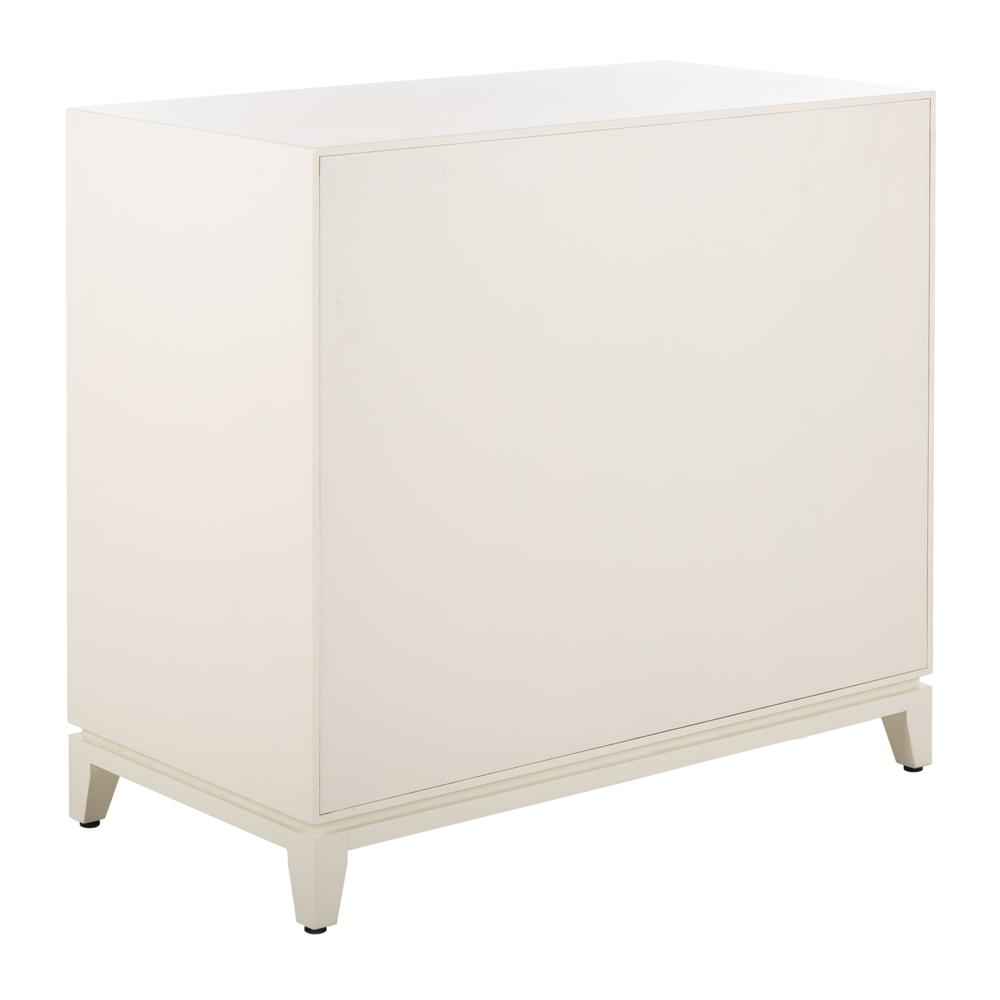 Nigel 2 Door 1 Drawer Chest, White. Picture 3
