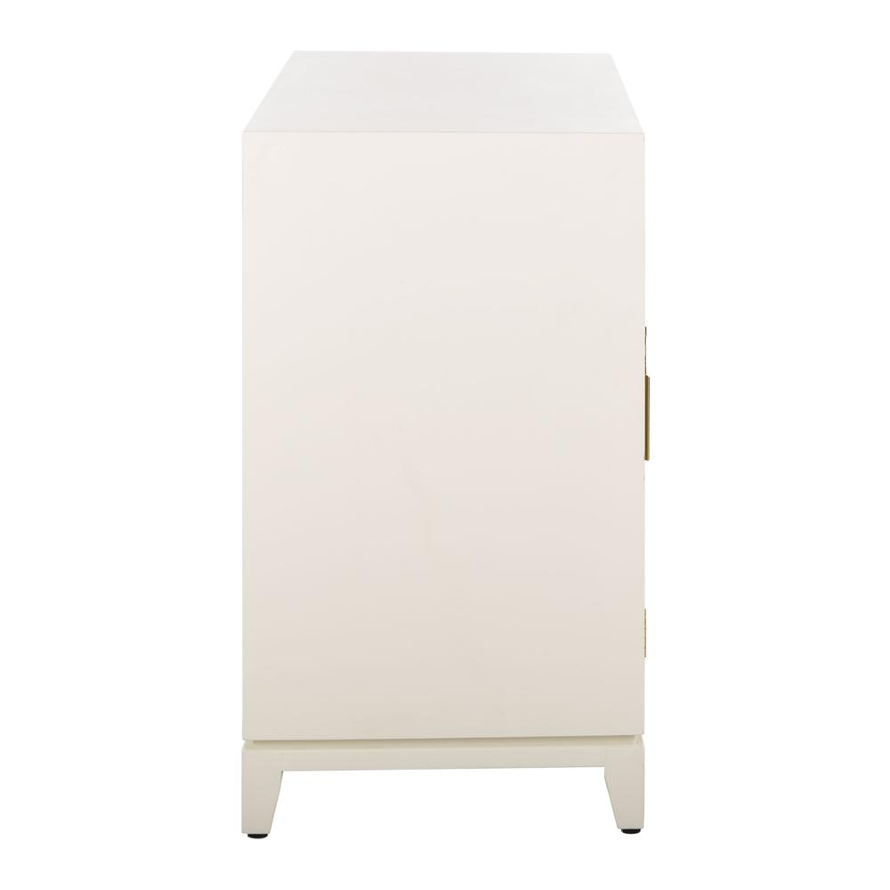 Nigel 2 Door 1 Drawer Chest, White. Picture 12