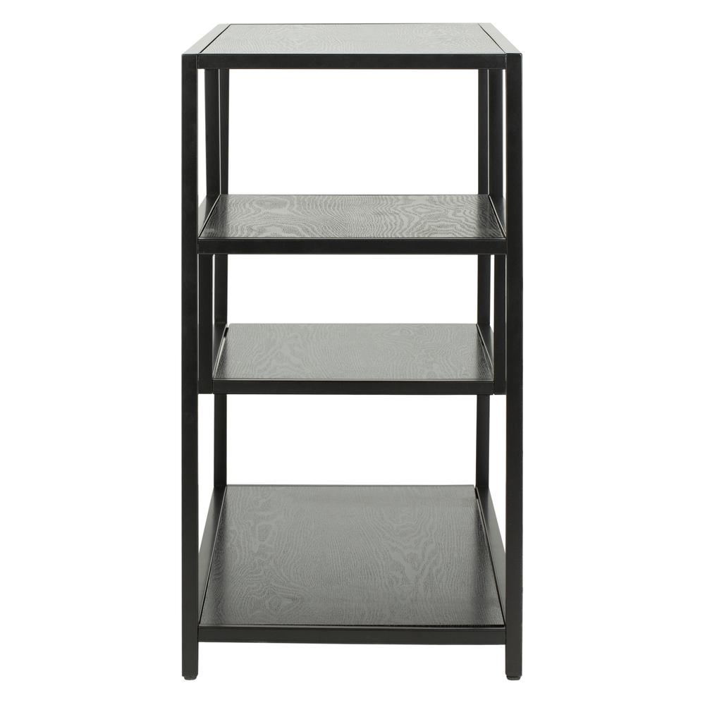 Reese Geometric Console Table, Black/Black. Picture 7