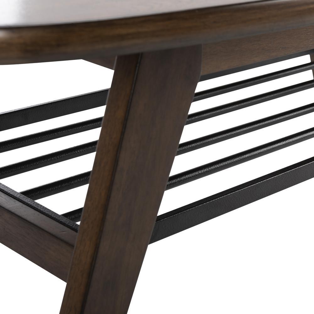 Oren 2 Tier Coffee Table, Dark Walnut. Picture 3