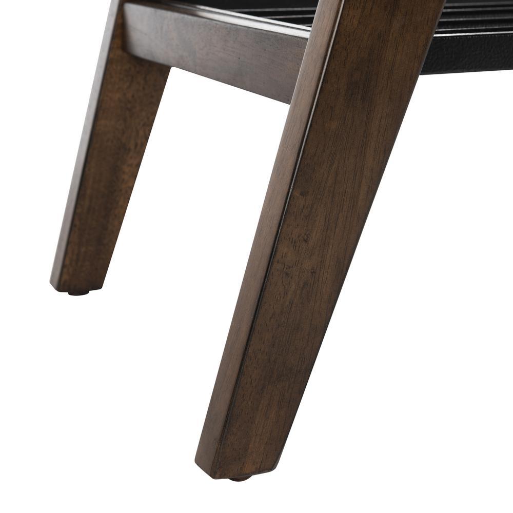 Oren 2 Tier Coffee Table, Dark Walnut. Picture 4
