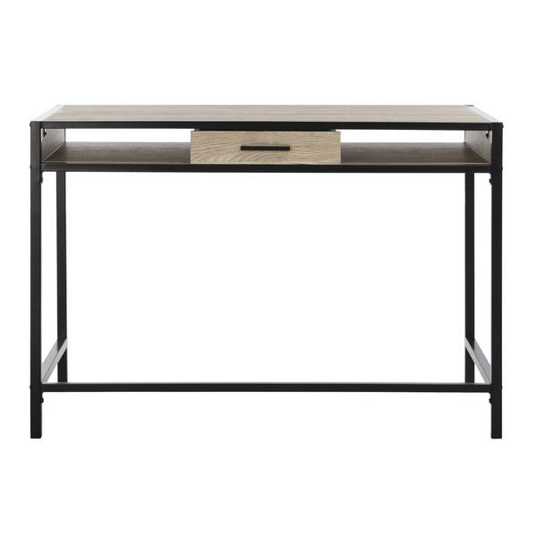 ALAN 1 SHELF DESK WITH DRAWER. Picture 1