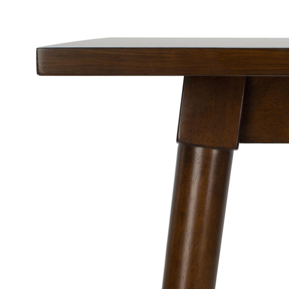 Tia Rectangle Dining Table, Walnut. Picture 2