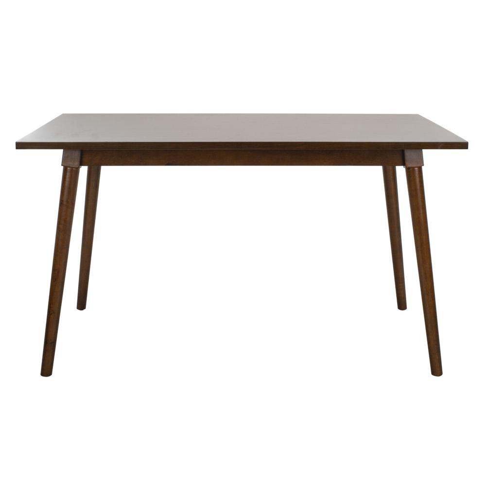 Tia Rectangle Dining Table, Walnut. Picture 1