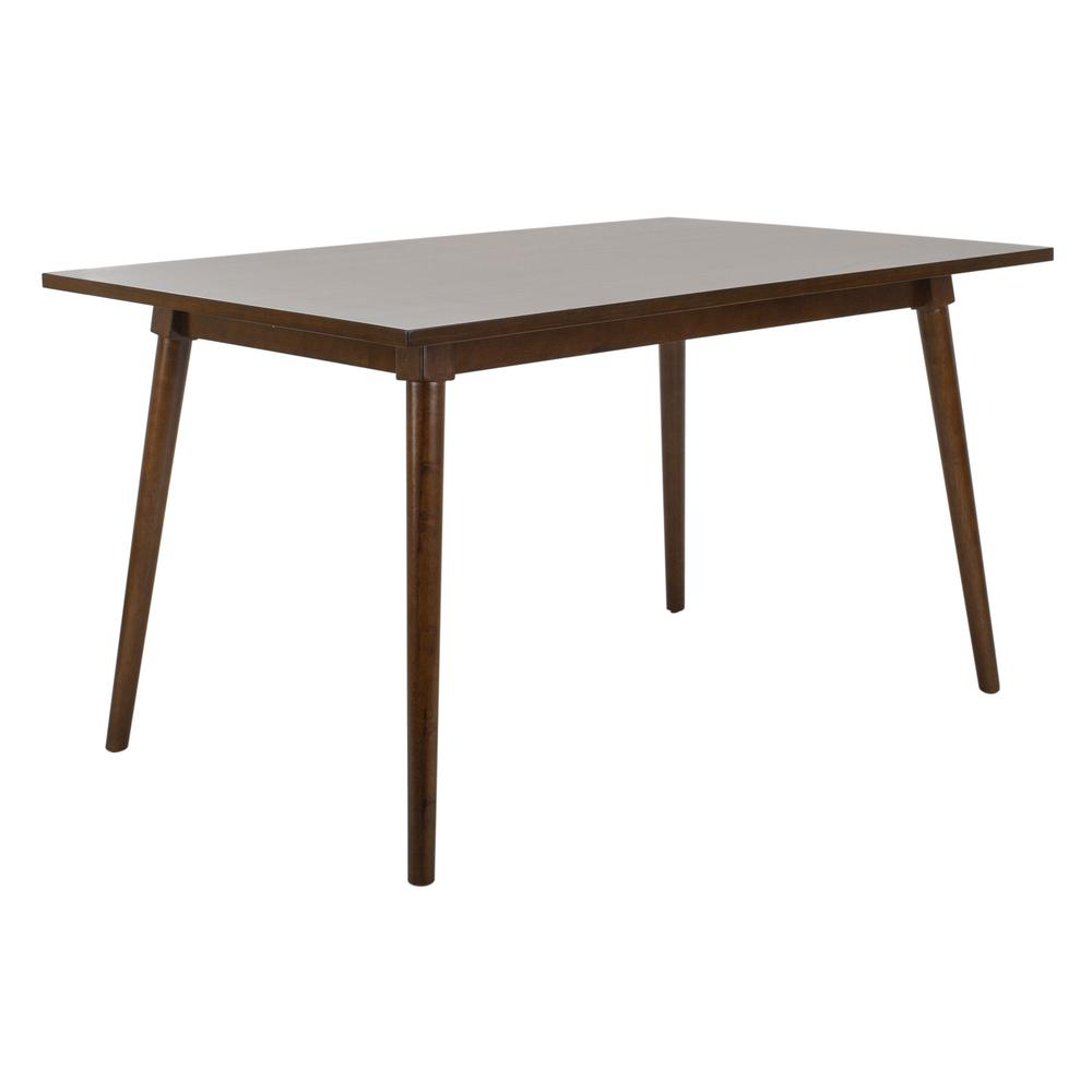 Tia Rectangle Dining Table, Walnut. Picture 6